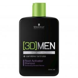 3D Men Wurzelaktivator Shampoo - 250 ml