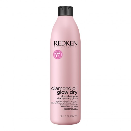 Diamond Oil Glow Dry Gloss Shampoo - 500 ml