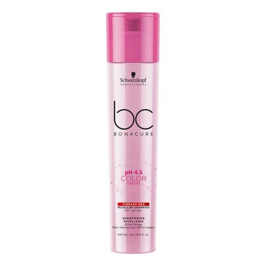 pH 4.5 Color Freeze Vibrant Red Micellar Shampoo - 250 ml