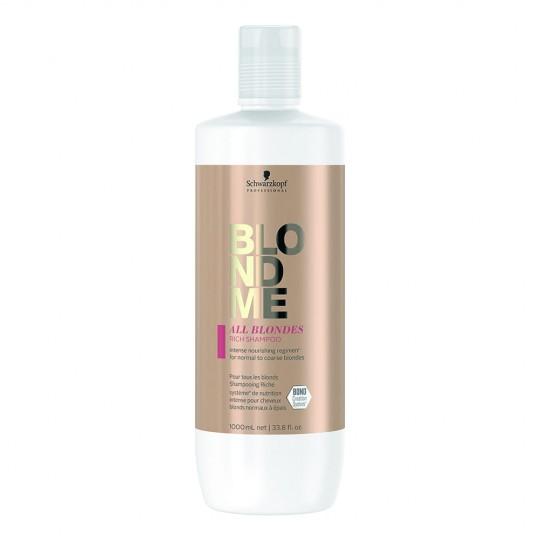 Keratin Restore Blonde Shampoo  - 1000  ml