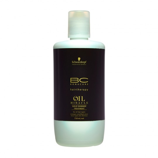 BC Oil Miracle Tratamiento de Brillo Dorado - 750 ml