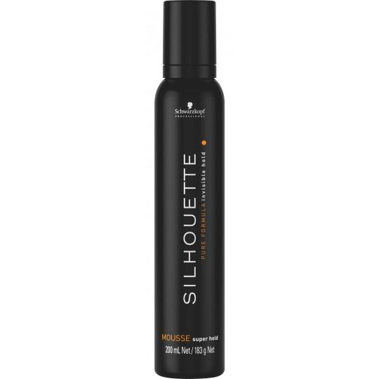 SILHOUETTE Super Hold Espuma- 200 ml