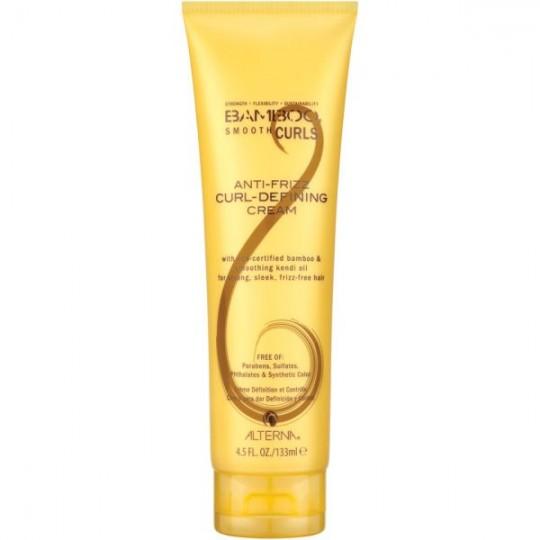 Bamboo Smooth Anti-Frizz Curl-Defining Cream - 133 ml