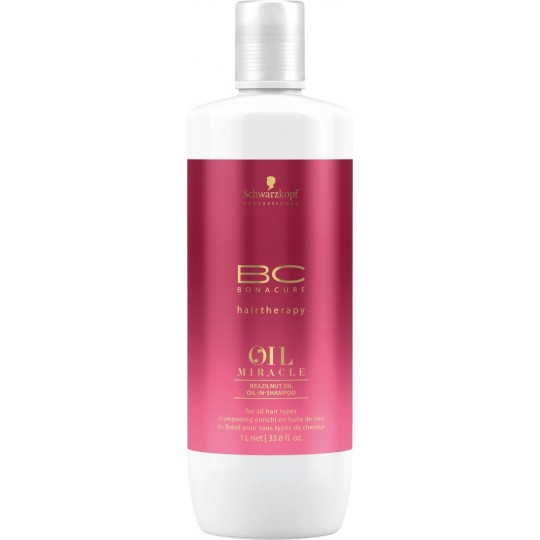 BC Oil Miracle Brazilnut Champú - 1000 ml