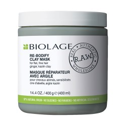Biolage R.A.W. Mascarilla de Arcilla Re-Bodify - 400 ml
