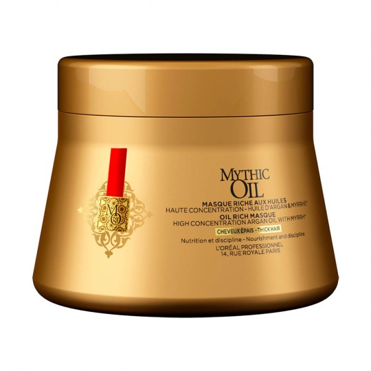 Mascarilla Mythic Oil C. Gruesos - 200 ml