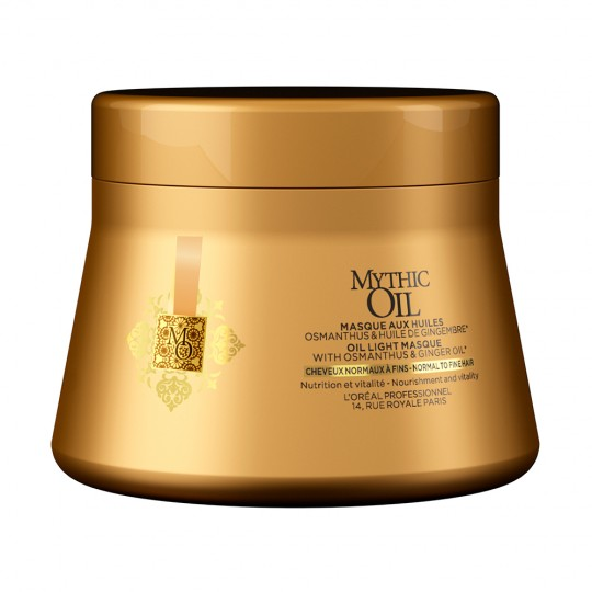 Mascarilla Mythic Oil C. Finos - 200 ml