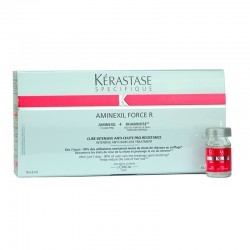 Kérastase Aminexil Force R - 10 x 6 ml (Anti-Caída)