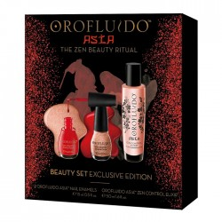 Oro Fluido Set Elixir Zen 50 ml + 2 vernis à ongles d'Asia 15 ml