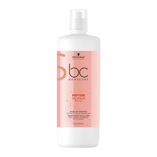 Shampooing Micellaire Peptide Repair Rescue - 1000 ml