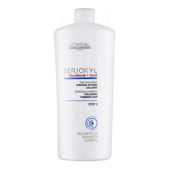 Serioxyl Soin Corporisant Cheveux Affinés Colorés - 1000 ml
