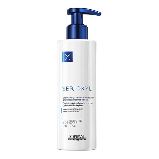 Serioxyl Shampooing Clarifiant Cheveux Colorés - 250 ml