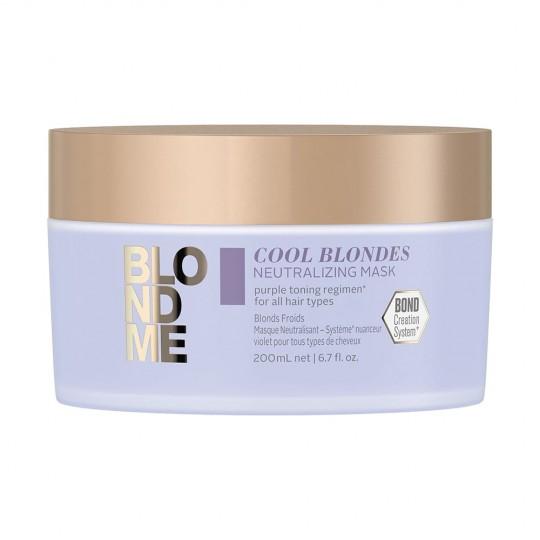 BM Masque Éclat Blond Froid - 200 ml