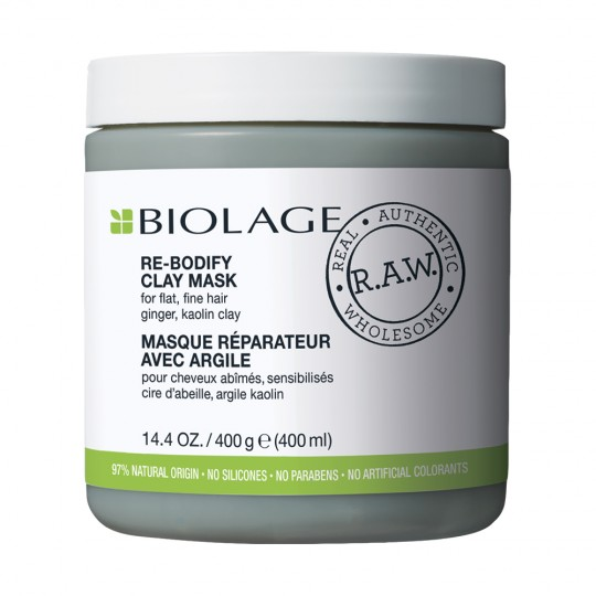 Biolage R.A.W. Re-Bodify Clay Mask - 400 ml