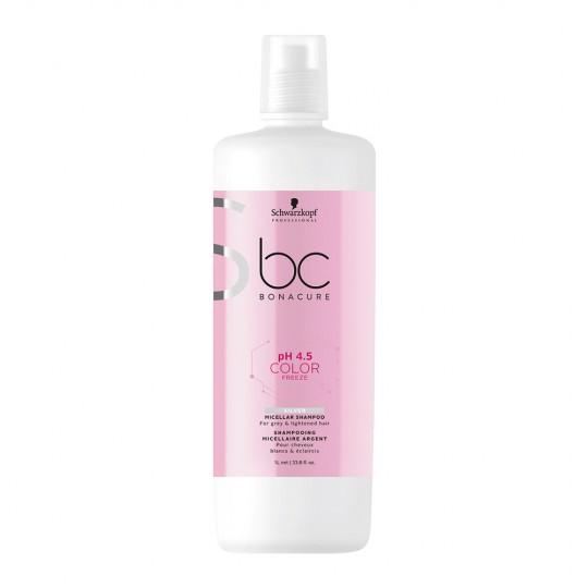 pH 4.5 Color Freeze Silver Micellar Shampoo - 1000 ml