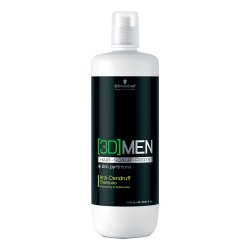 3D Men Anti-Dandruff Shampoo - 1000 ml