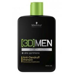 Shampoo Antiforfora 3D Men - 250 ml