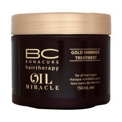 BC Oil Miracle Tratamiento de Brillo Dorado - 150 ml